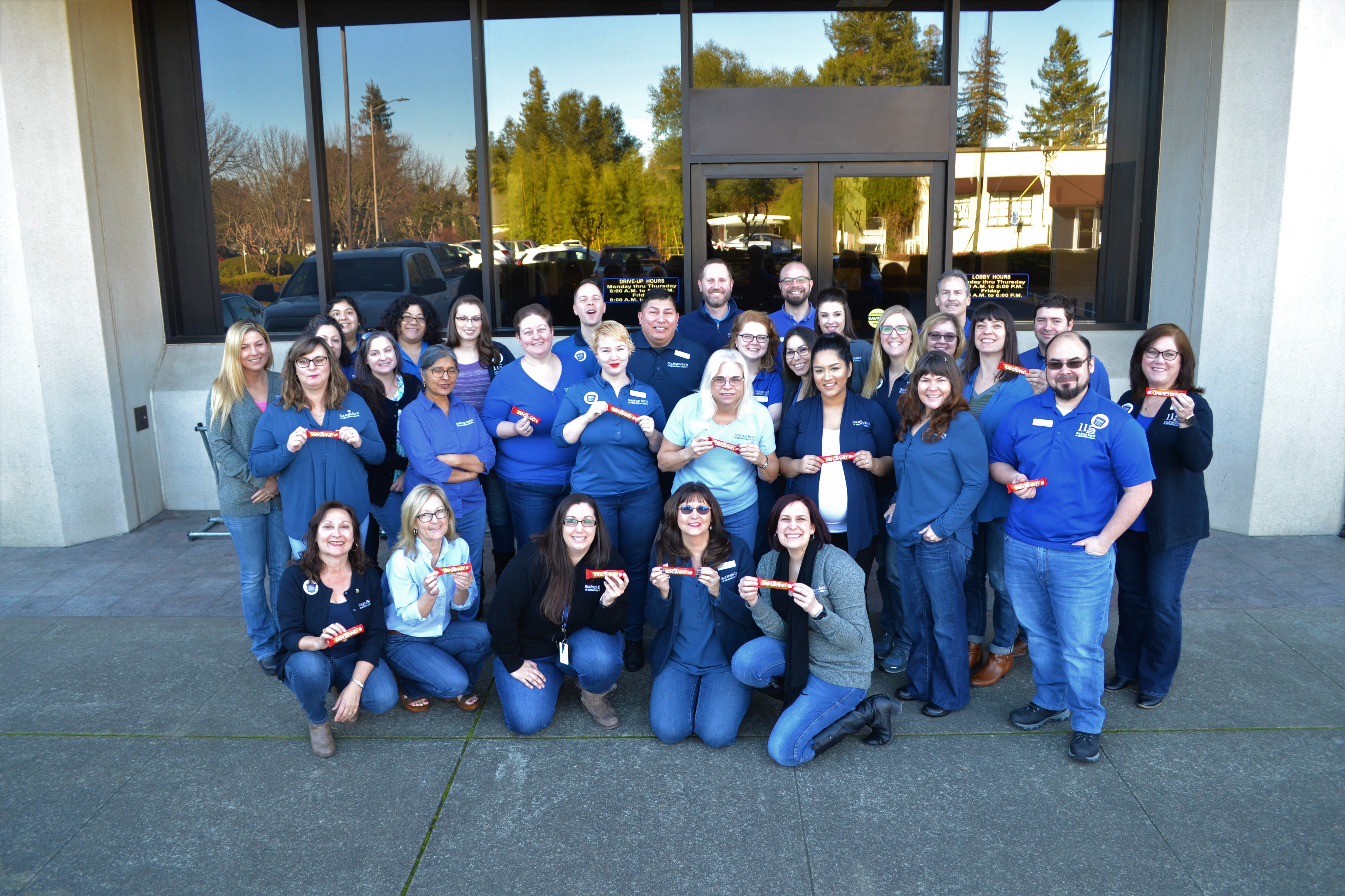 Casual for a Cause – Denim Days group photo